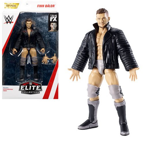 Image of WWE Wrestling Top Picks Elite Wave 2 - Finn Balor Action Figure (RE-STOCK)
