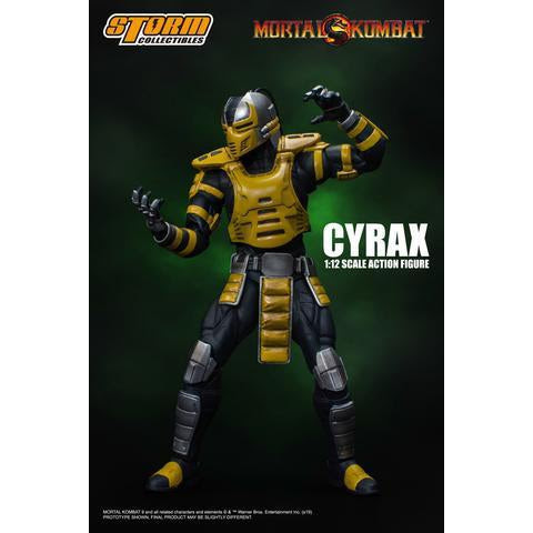 Image of Mortal Kombat Cyrax 1:12 Scale Action Figure