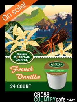 Green Mountain French Vanilla Keurig K-cup coffee