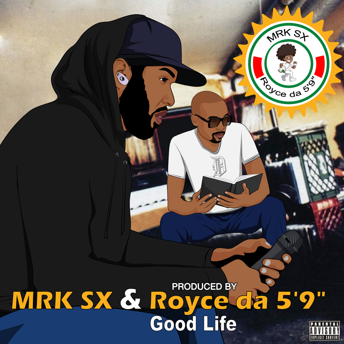 good life official cover copy