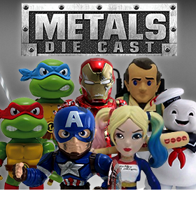 METALS DIE CAST – GHOSTBUSTERS, SUICIDE SQUAD, TMNT, MARVEL