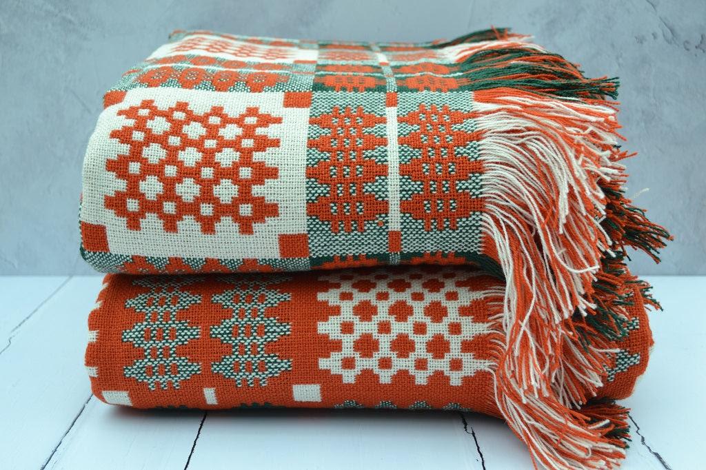 Image of Welsh Tapestry Blankets - Pierhead