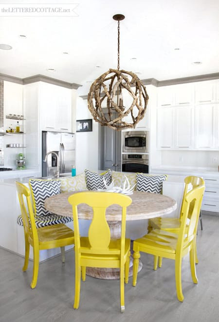The Chic Charm of Yellow Chairs | HomeandEventStyling.com
