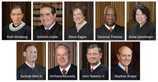 Image result for 9 justices of the supreme court names 2014