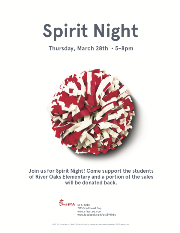 Spirit Day @ Chick fil A | Houston | Texas | United States