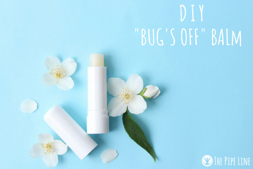 MAKE THESE EASY TO-GO BUG BALM STICKS