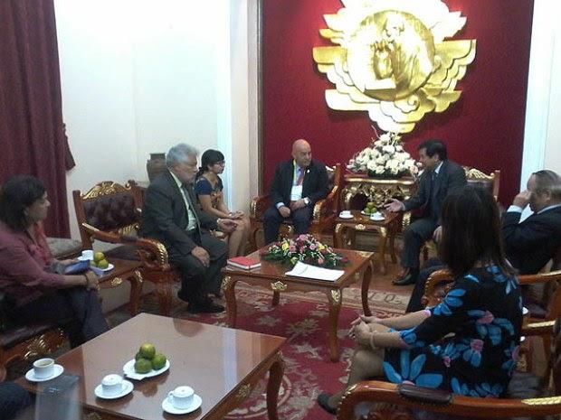 Asociación de Amistad Vietnam recibió a delegación venezolana