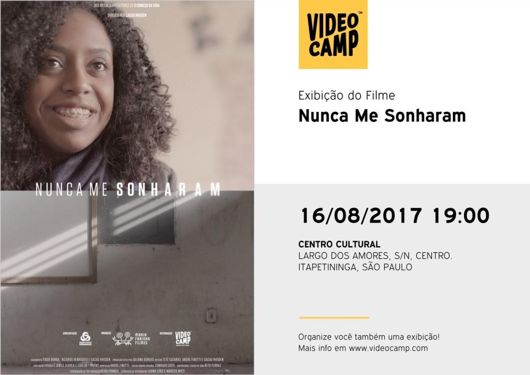 Centro Cultural de Itapetininga exibe filmes da plataforma online Video Camp