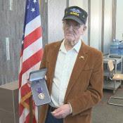 Veteran Receives Purple Heart 63 Years After Serving in Korean War
