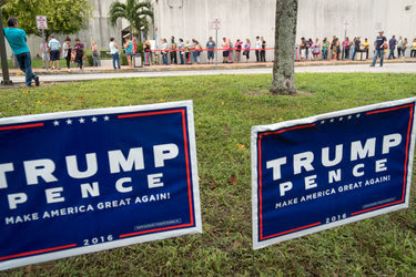Early voting in Miami. The Justice Department said on Monday that it would deploy over 500 people in 28 states to monitor Election Day practices and guard against intimidation and disruptions.