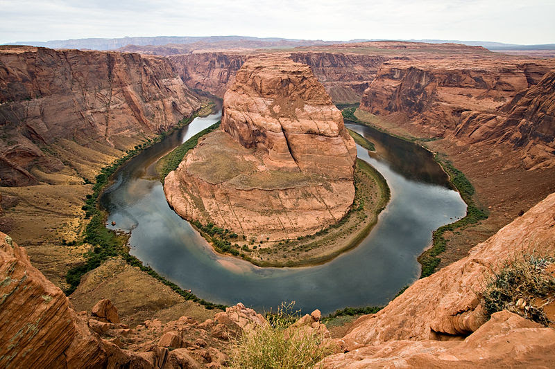 horseshoe bend colorado river page arizona