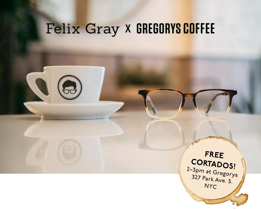 Felix Gray x Gregorys Coffee