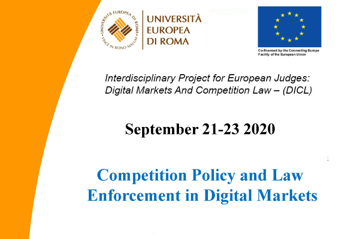 Competition Policy and Enforcement in Digital Markets