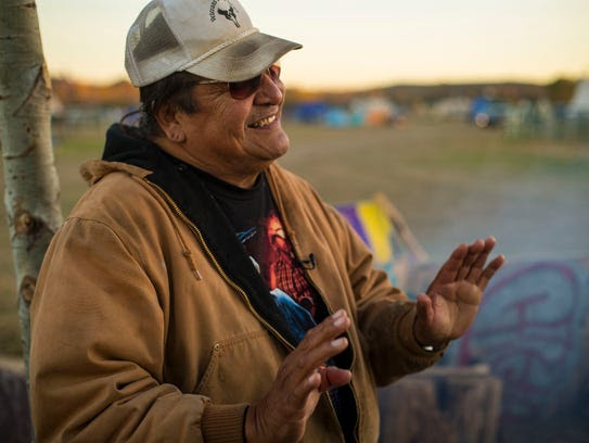 Gerald Iron Shield, 62, of the Standing Rock Sioux