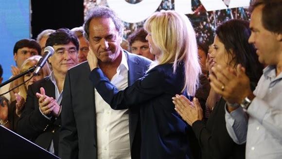 Daniel Scioli reiteró que colaborará con lo que pueda en el próximo gobierno.Foto:LA NACION/Fernando Massobrio.