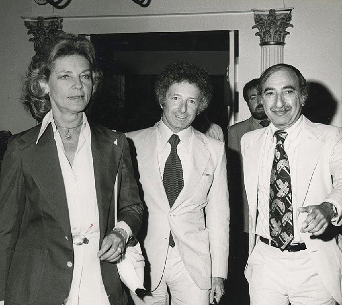 Lauren Bacall, Zev Buffman and Charlie