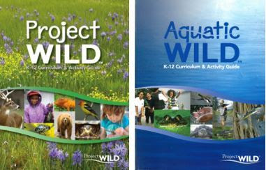 Project WILD and Aquatic WILD Book Covers