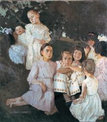 Casorati, Le bambine