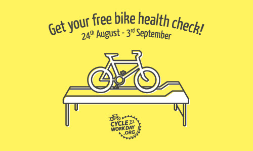 Did you know that there are Free Bike Health Checks available to employees nationwide?