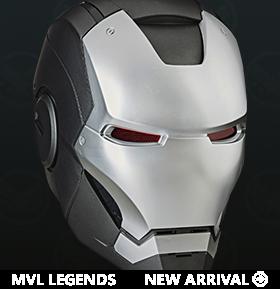 Marvel Legends War Machine 1:1 Scale Wearable Electronic Helmet