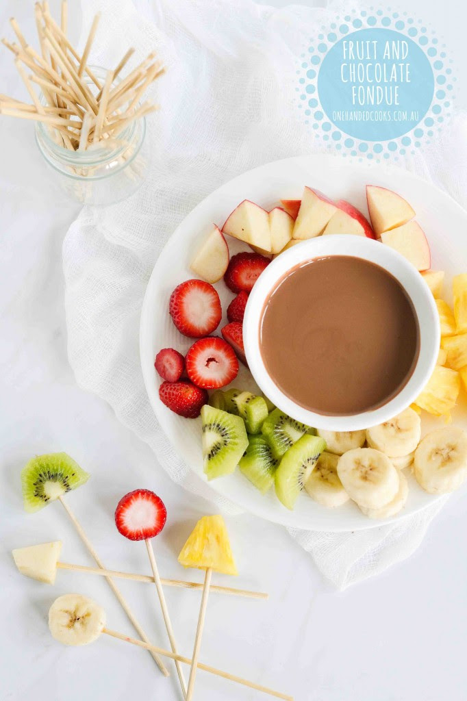 Easter Egg Chocolate Fondue