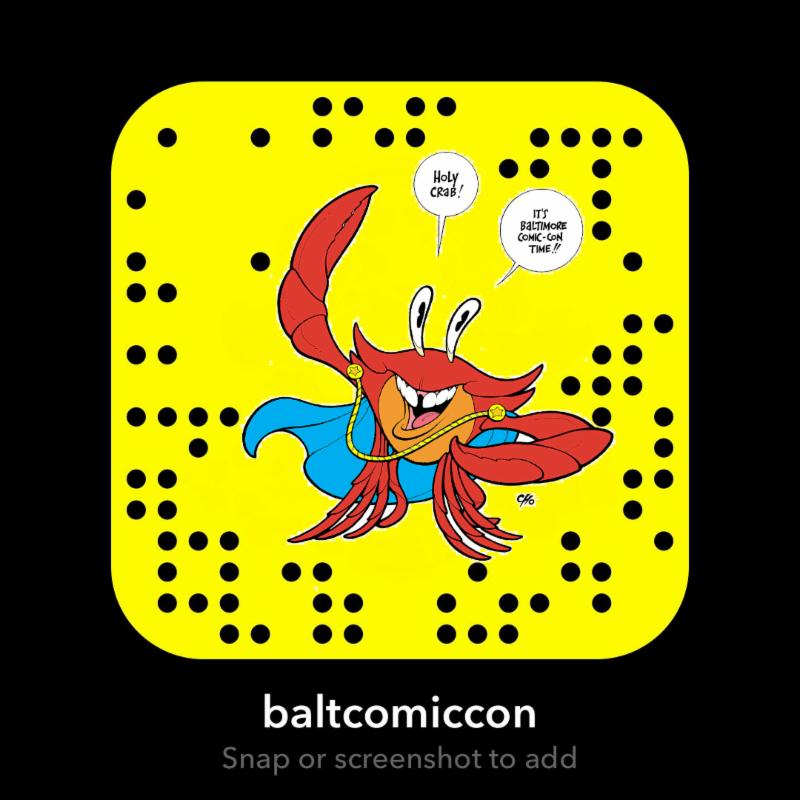 Baltimore Comic-Con SnapCode