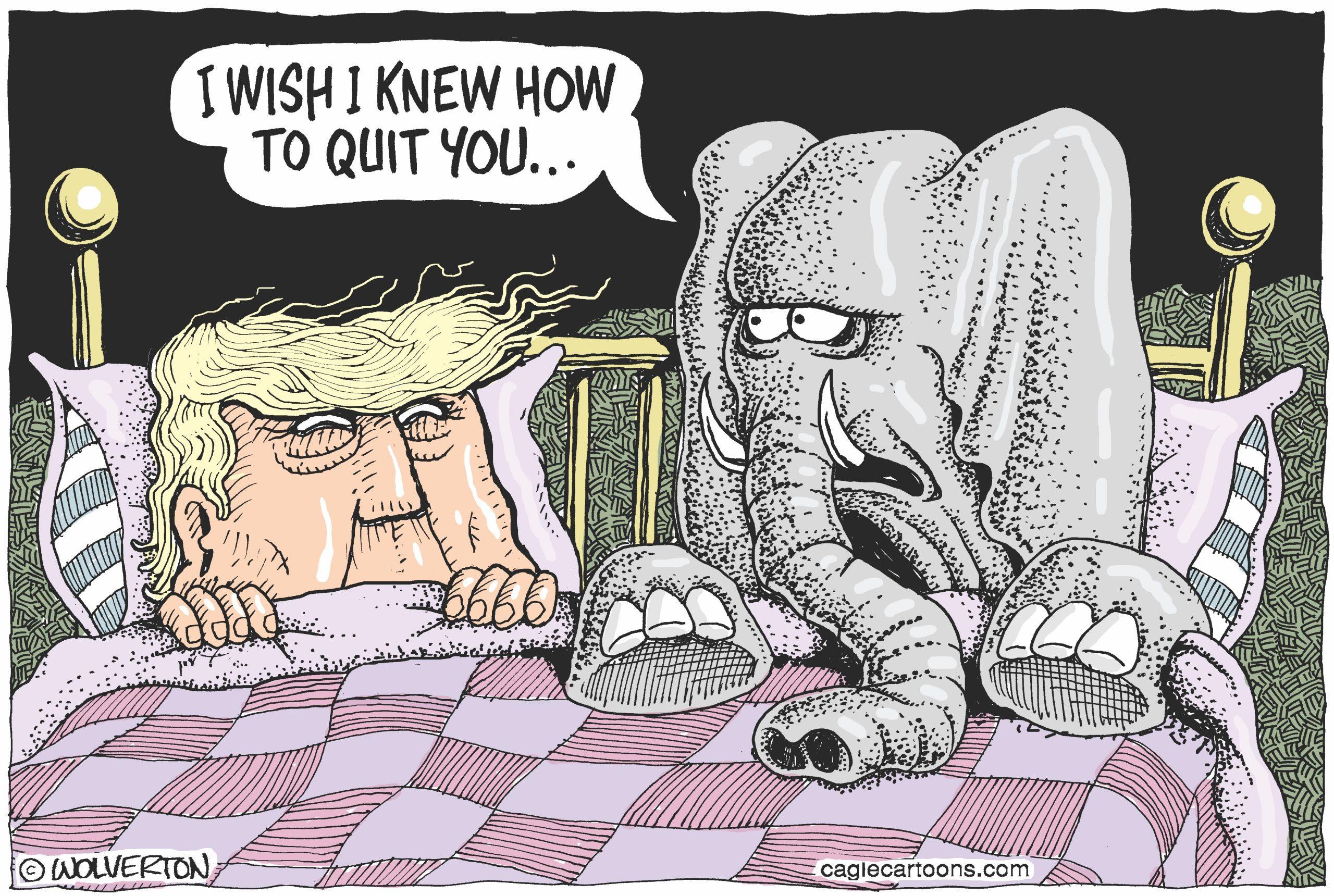 Quitting Trump. Monte Wolverton.