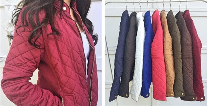 Quilted Jackets!