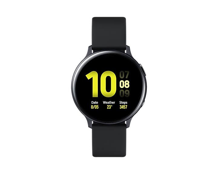 Samsung Galaxy Watch Active2 (44mm) - Aluminium Black