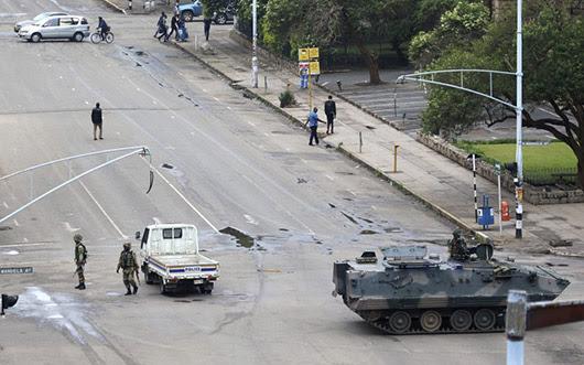 בילד: מיליטערישער פוטש אין זימבאבווע