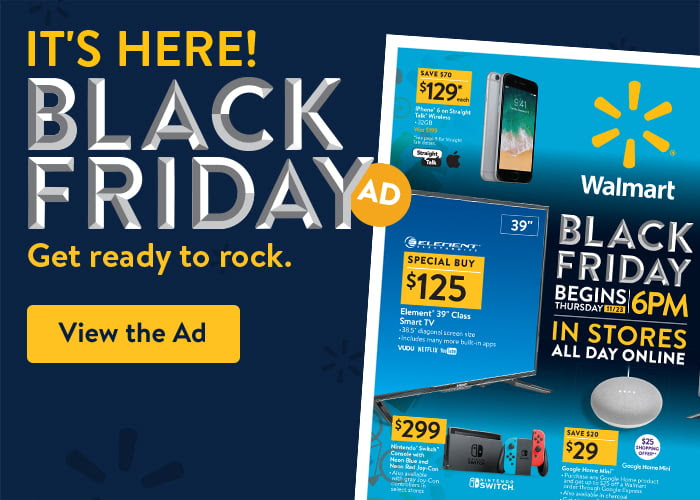 Black Friday get ready to rock