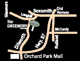 Greenery Garden Centre Map
