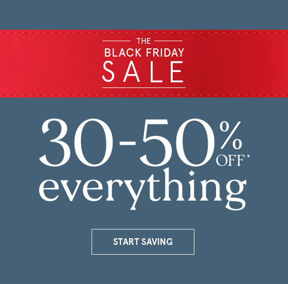 Zales Black Friday Savings (30-50% Off EVERYTHING)