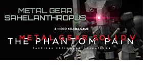 MGSV THE PHANTOM PAIN SAHELANTHROPUS