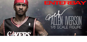 REAL MASTERPIECE 1/6 ALLEN IVERSON