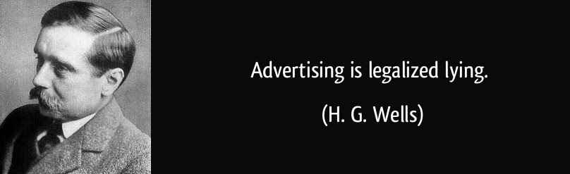 advertising is legalized lying Advertising is legalized form of lying advertising is legalized form of lyingdoc (size: 43 kb / downloads: 66) 100% yes most advertisements and advertisers make totally false and tall claims, which is far from reality and they call it creativity it is nothing but lying and society has tacitly grown to accept it.