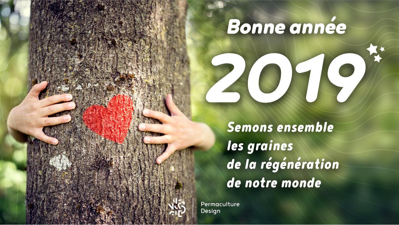 Belle et heureuse année 2019 !