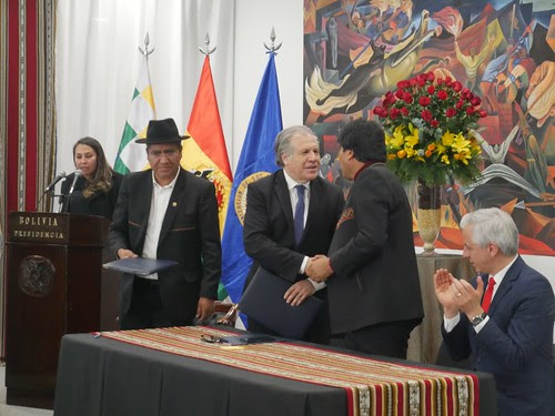 OEA observará elecciones generales en Bolivia