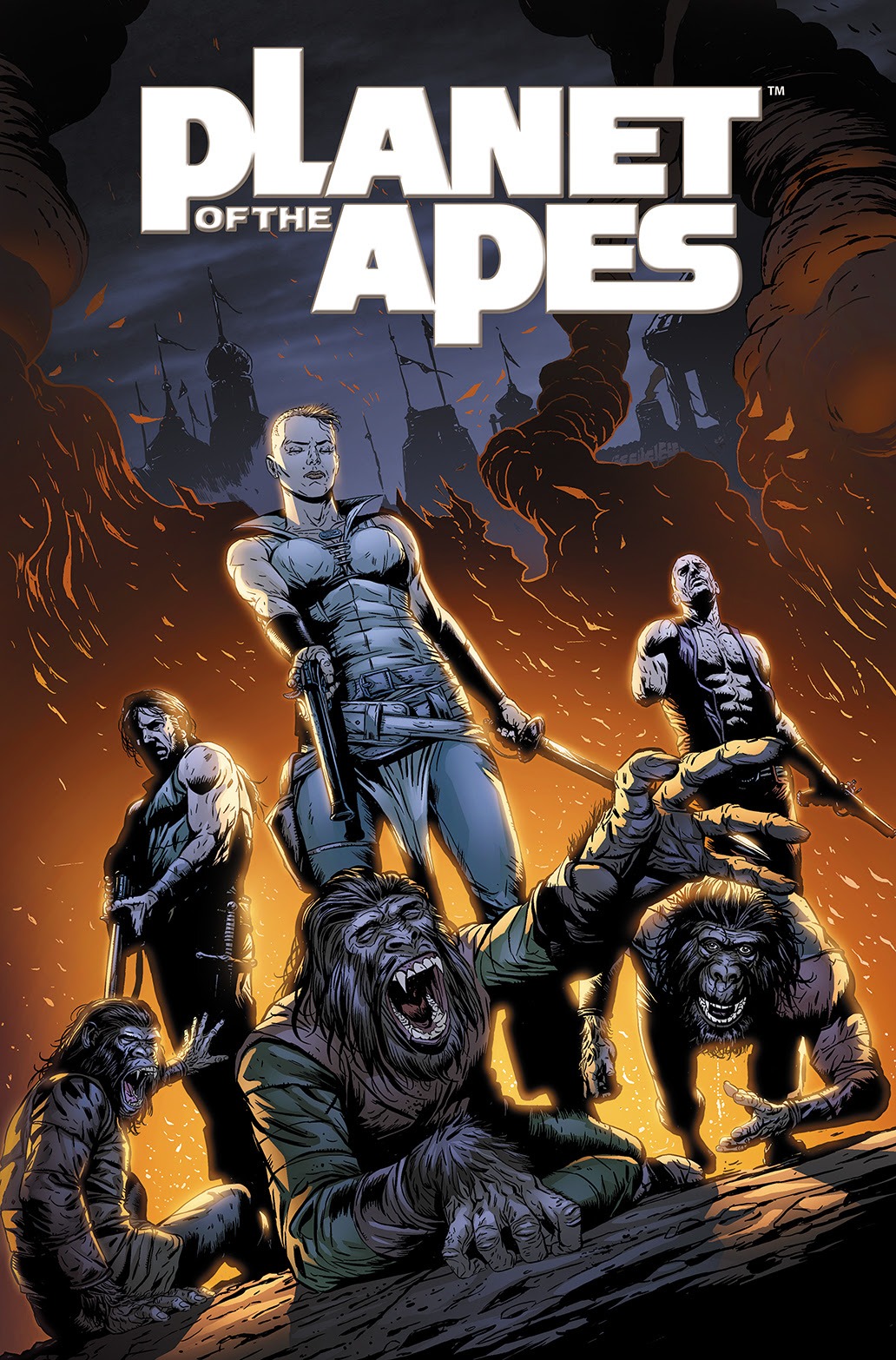 PLANET OF THE APES VOL. 5 TP Cover by Marek Oleksicki