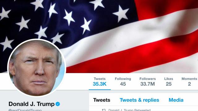 Conta de Trump no Twitter é bloqueada e plataforma ameaça bani-lo em definitivo