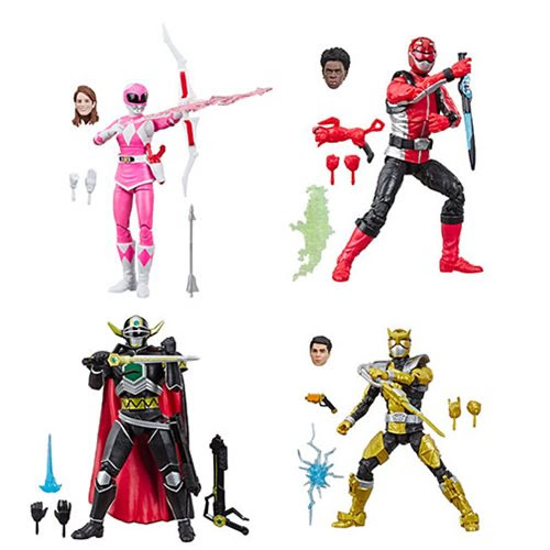 Image of Power Rangers Lightning Collection Wave 2 - Set of 4 Figures