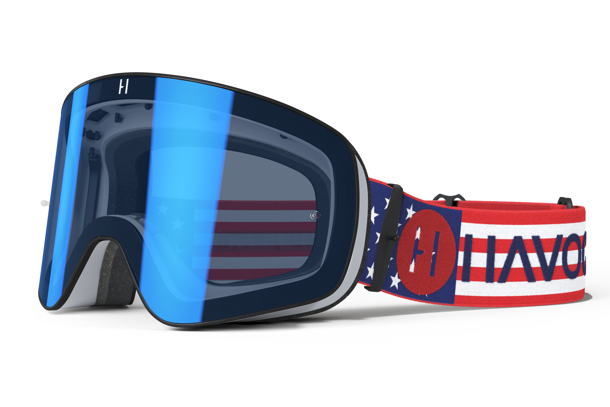 Havoc Racing Co Infinity Goggle (Patriot)