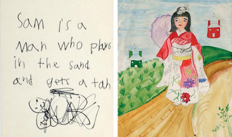 Veja as obras de infância de artistas famosos, de Laurie Simmons para Olafur Eliasson