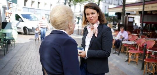 Valérie Bougault-Delage, candidate REM dans la 14e circonscription de Paris