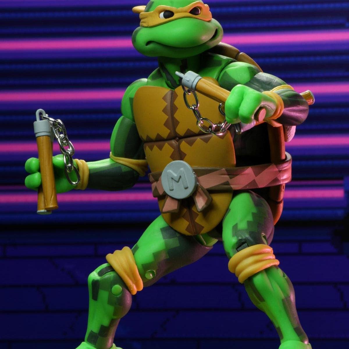 Image of TMNT Turtles in Time Series 2 - Michelangelo - JULY 2020
