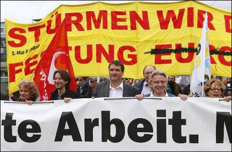 Protestas en Suiza por el Día del Trabajo