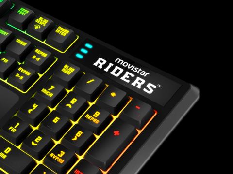 Movistar Riders: nuevo teclado mecánico y ratón de KROM 2