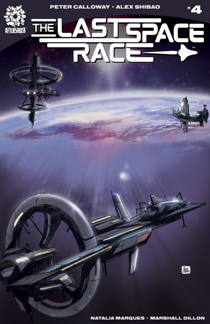The Last Space Race 4 Cover