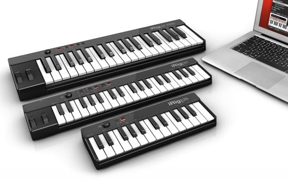 iRig Keys USB range for Mac/PC