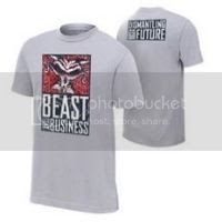 Lesnar/Heyman Beast for Business Shirt